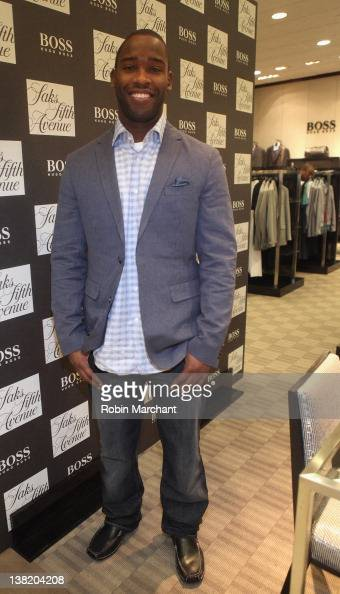 e693a2e44ee Pierre Garcon at Saks Fifth Avenue Indianapolis for Hugo Boss at Saks...  News Photo - Getty Images
