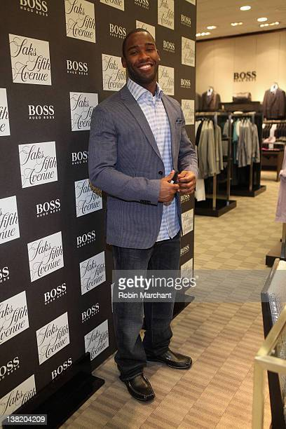 63402739b8e Pierre Garcon at Saks Fifth Avenue Indianapolis for Hugo Boss at Saks Fifth  Avenue on February