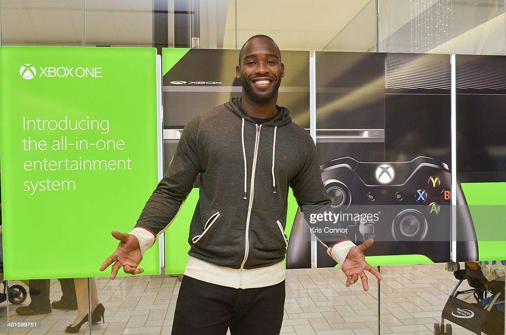 Microsoft Retail Store and Washington Redskins' Wide Receiver Pierre Garcon Host Xbox One Gaming Tournament at Tysons Corner Center In Tyson's Corner, VA