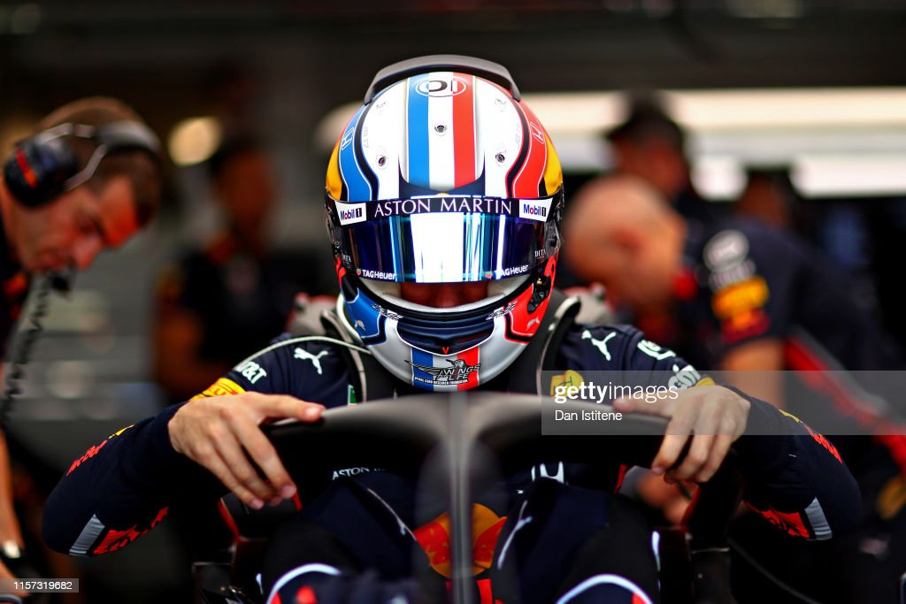 F1 Grand Prix of France - Practice : News Photo