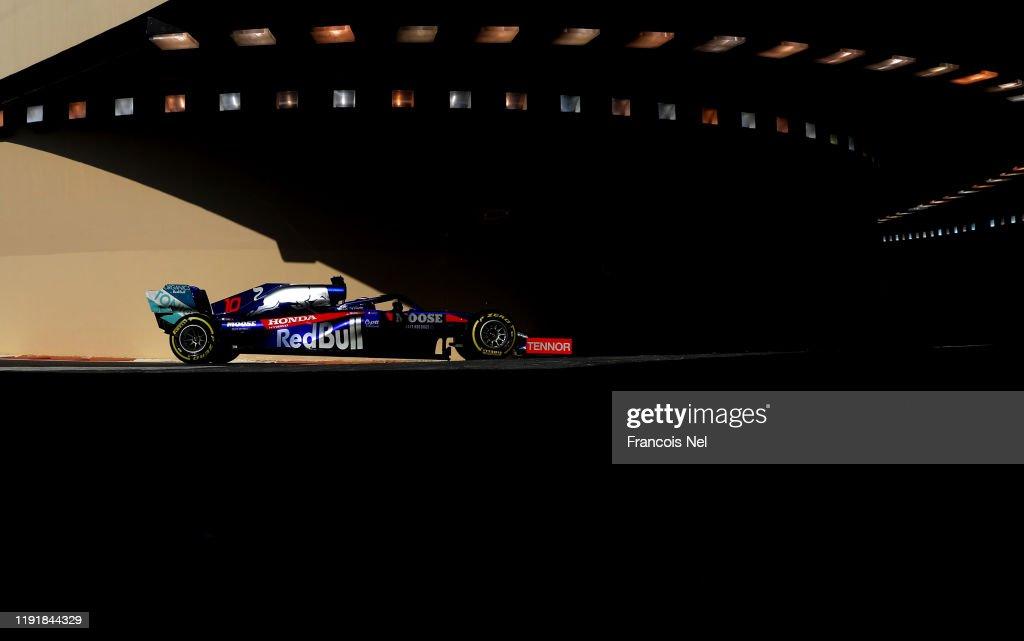 F1 End of Season Testing in Abu Dhabi - Day Two : News Photo