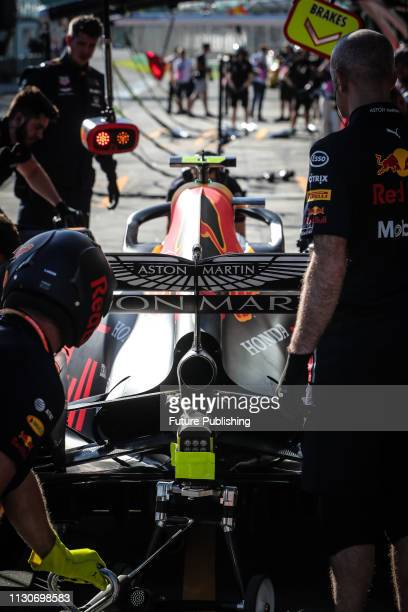 Pierre GASLY of Red Bull Racing in the pitlane during 2nd practice on day 2 of the 2019 Formula 1 Australian Grand Prix