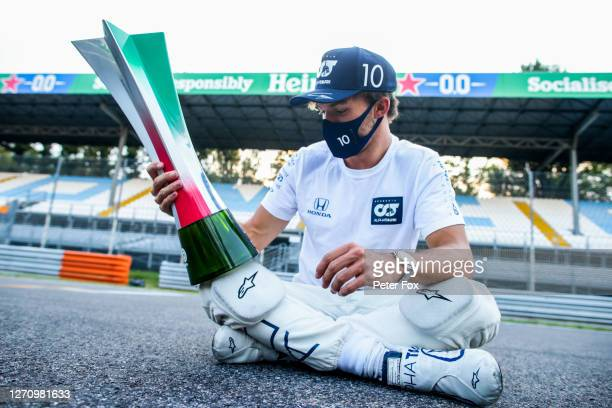 Pierre Gasly of Scuderia AlphaTauri and France during the F1 Grand Prix of Italy at Autodromo di Monza on September 06, 2020 in Monza, Italy.