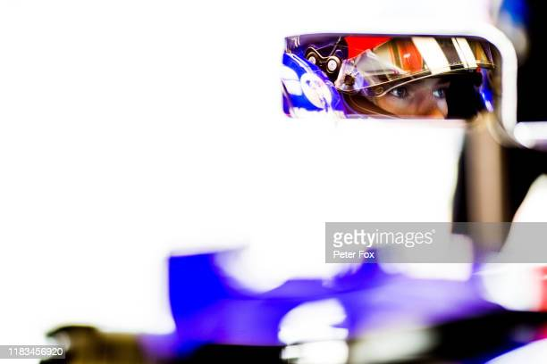 Pierre Gasly of Scuderia Toro Rosso and France during practice for the F1 Grand Prix of Mexico at Autodromo Hermanos Rodriguez on October 25 2019 in...