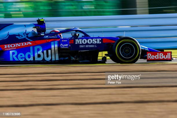 Pierre Gasly of Scuderia Toro Rosso and France during the F1 Grand Prix of Japan at Suzuka Circuit on October 13 2019 in Suzuka Japan