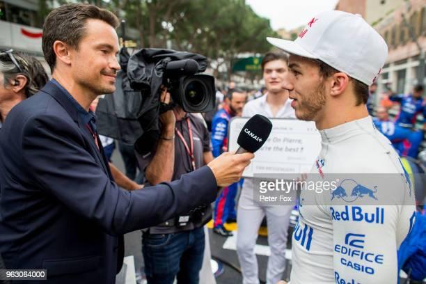 27 Pierre Gasly of Scuderia Toro Rosso and France during the Monaco Formula One Grand Prix at Circuit de Monaco on May 27 2018 in MonteCarlo Monaco