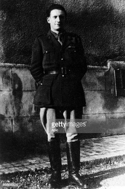 Pierre Georges aka Colonel Fabien french communist resistant here in 1944 in Alsace