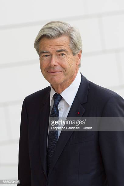 Pierre Gode attends the Inauguration of the Louis Vuitton Foundation on October 20, 2014 in Paris, France.