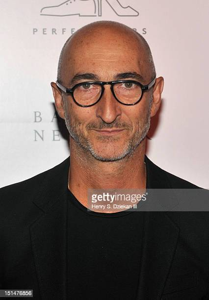 Pierre Hardy attends a cocktail party at Barneys New York on September 7 2012 in New York City