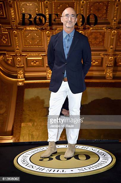 Pierre Hardy attends the #BoF500 Cocktail Event as part of the Paris Fashion Week Womenswear Spring/Summer 2017 at Hotel de Ville on October 4 2016...