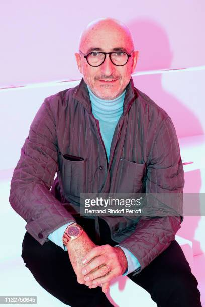Pierre Hardy attends the Chloe show as part of the Paris Fashion Week Womenswear Fall/Winter 2019/2020 on February 28, 2019 in Paris, France.