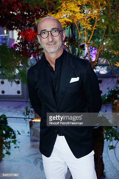 Pierre Hardy attends the Soiree Haute Couture as part of Paris Fashion Week at Le Petit Palais on July 6 2016 in Paris France