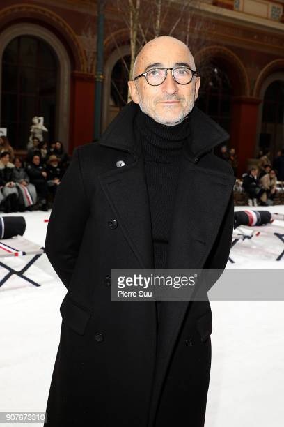 Pierre Hardy attends the Thom Browne Menswear Fall/Winter 20182019 show as part of Paris Fashion Week on January 20 2018 in Paris France
