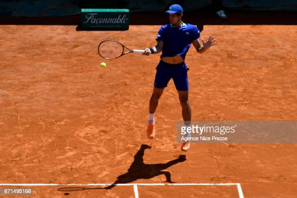 Pierre Hugues Herbert of France during the Monte Carlo Rolex Masters 2017 on April 22 2017 in Monaco Monaco