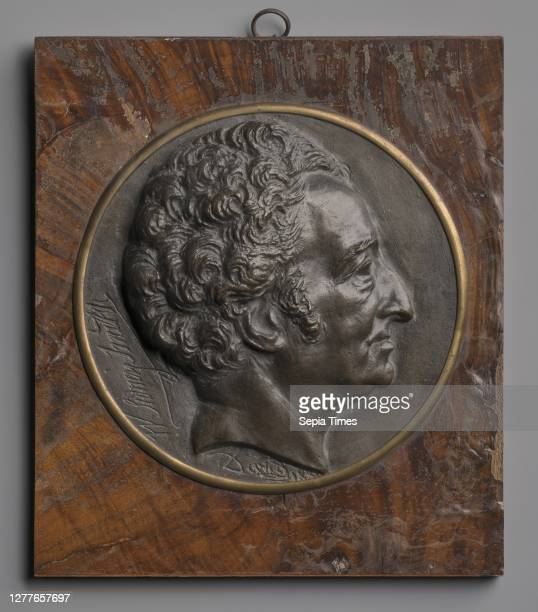 Pierre Jean David d'Angers, French, 1788–1856, Sidney Smith, 1820–1829, Bronze, Diameter: 6 1/2 in. .