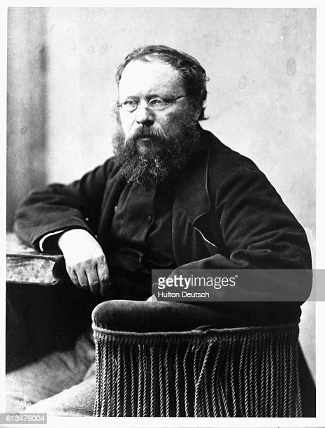 Pierre Joseph Proudhon the French writer and anarchist