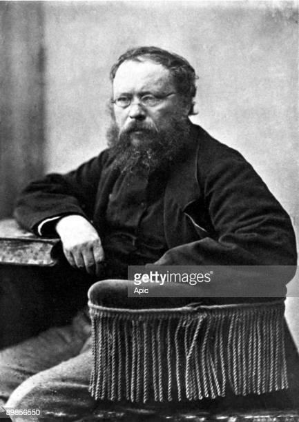 Pierre Joseph Proudhon trade union French socialist and political theorist photo by Gaspard Felix Tournachon said Felix Nadar in 1862