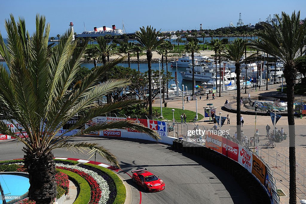 Tequila Patron American Le Mans Series at Long Beach : News Photo