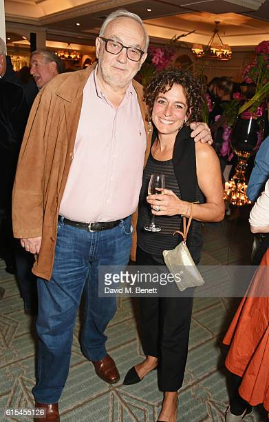 Pierre Koffmann and Alex Polizzi attend the launch of Fortnum Mason The Cook Book by Tom Parker Bowles at Fortnum Mason on October 18 2016 in London...