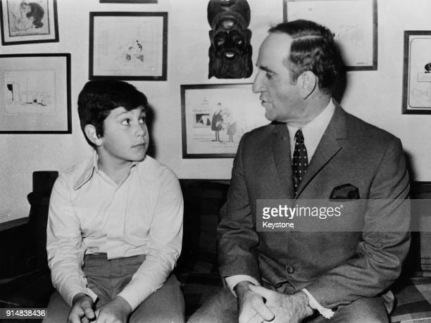 Pierre Laporte the Deputy Premier and Minister of Labour of Quebec with his son 1970 Laporte was kidnapped and murdered in October 1970