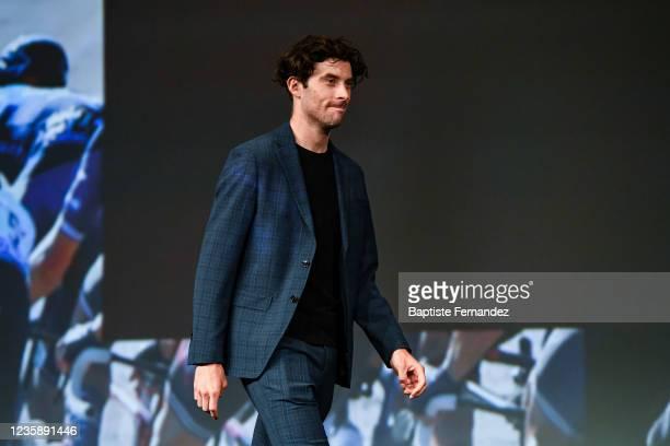 Pierre LATOUR during the presentation of the Tour de France 2022 at Palais des Congres on October 14, 2021 in Paris, France.