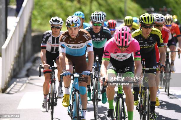 Pierre Latour of France and Team AG2R La Mondiale / Alex Howes of The United States and Team EF Education FirstDrapac p/b Cannondale / Carlos Verona...