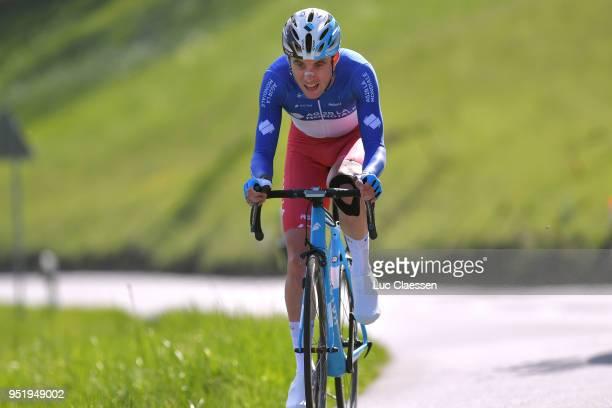 Pierre Latour of France and Team AG2R La Mondiale / during the 72nd Tour de Romandie 2018, Stage 3 a 9,9km individual time trial stage from Ollon to...