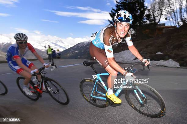 Pierre Latour of France and Team AG2R La Mondiale / during the 72nd Tour de Romandie 2018, Stage 4 a 149,2km stage from Sion to Sion on April 28,...