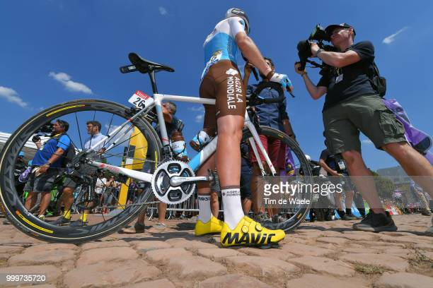 Pierre Latour of France and Team AG2R La Mondiale / Mavic Shoes / during the 105th Tour de France 2018 Stage 9 a 1565 stage from Arras Citadelle to...