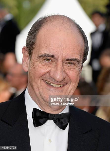 Pierre Lescure attends the 'Clouds Of Sils Maria' premiere during the 67th Annual Cannes Film Festival on May 23 2014 in Cannes France