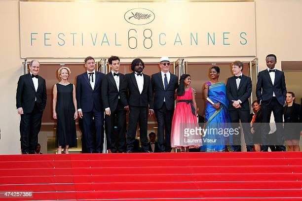 Pierre Lescure, Frederique Bredin, guest, guest, Jesuthasan Antoythasan, Jacques Audiard, Claudine Vinasithamby, Kalieaswari Srinivasan, Vincent...