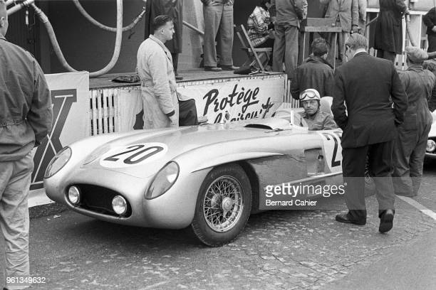 Pierre Levegh Mercedes 300 SLR 24 Hours of Le Mans Le Mans 11 June 1955 Pierre Levegh the unfortunate Frenchman who lost his life in the tragic...