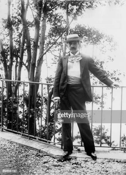 Pierre Loti french noveslist in Hendaye in 1900