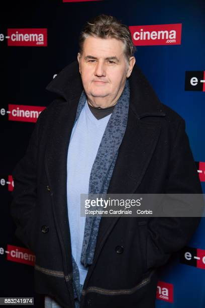 Pierre Menes attends 'ecinemacom' Launch Party at Restaurant L'Ile on November 30 2017 in IssylesMoulineaux France