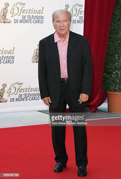 Pierre Mondy during 45th Monte Carlo Television Festival TF1 Cocktail Arrivals at Grimaldi Forum in Monte Carlo Monaco