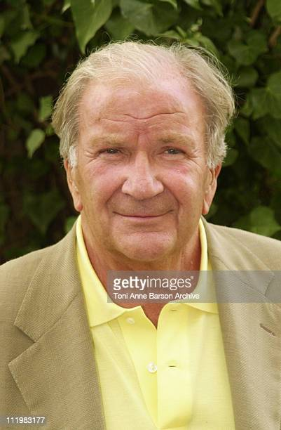 Pierre Mondy during SaintTropez Fiction Television Festival 2001 Pierre Mondy Portrait at Place des Lices in SaintTropez France
