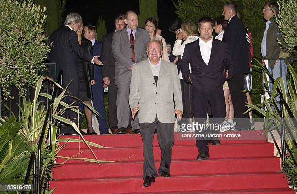 Pierre Mondy Jury during SaintTropez Fiction Television Festival 2001 Closing Ceremony at Place des Lices in SaintTropez France