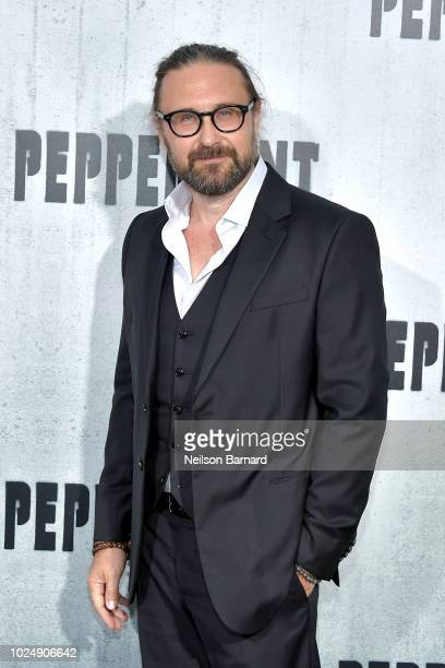 Pierre Morel attends the premiere of STX Entertainment's Peppermint at Regal Cinemas LA LIVE Stadium 14 on August 28 2018 in Los Angeles California