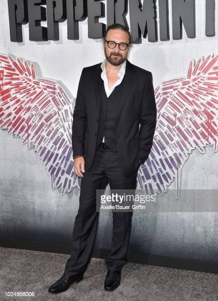 Pierre Morel attends the premiere of STX Entertainment's 'Peppermint' at Regal Cinemas L.A. LIVE Stadium 14 on August 28, 2018 in Los Angeles,...