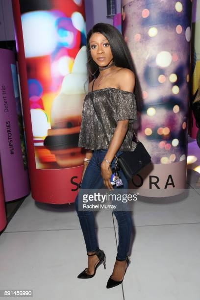 Pierre Murphy attends the Sephora Collection #Lipstories launch at Sephora Studios LA on December 12 2017 in Los Angeles California