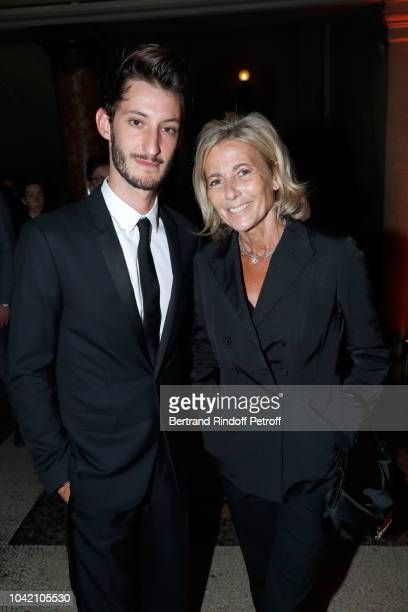 Pierre Niney and Claire Chazal attend the Opening Season Paris Opera Ballet Gala as part of the Paris Fashion Week Womenswear Spring/Summer 2019 Held...