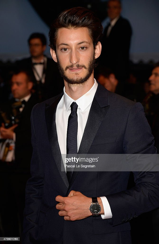 Pierre Niney attends the Premiere of 'Inside Out' during the 68th annual Cannes Film Festival on May 18, 2015 in Cannes, France.