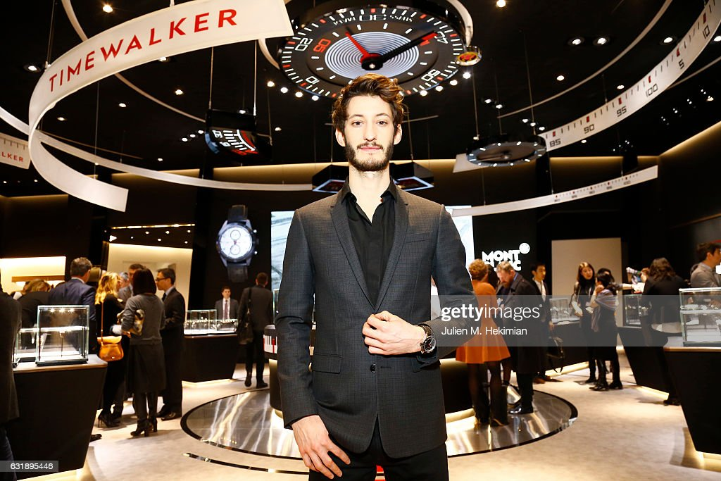 Celebrities Visiting The Montblanc Booth At SIHH - 27th Salon ...