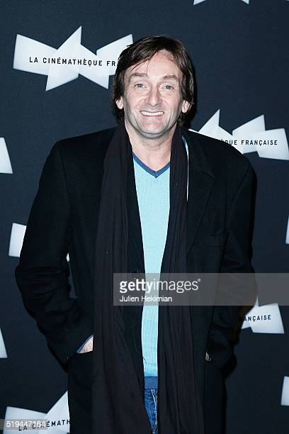 Pierre Palmade attends the Pierre Richard Retrospective at Cinematheque Francaise on April 6 2016 in Paris France