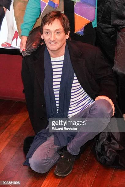 Pierre Palmade during the 'Brillantissime' Photocall at Publicis Champs Elysees on January 15 2018 in Paris France