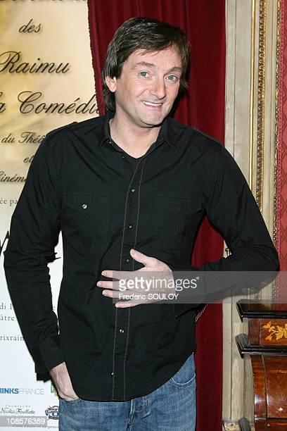 Pierre Palmade in Paris France on December 15 2008