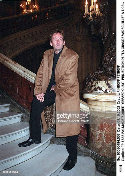 Pierre Palmade'Gerard Oury' film screening of 'La Grande Vadrouille' at the Garnier opera