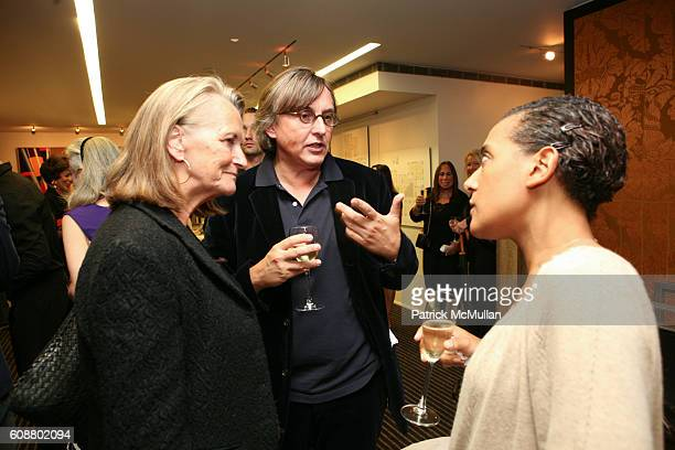 Pierre Passebon attends HIGH TEA FOR THE PREMIERE OF GALERIE MARK HOSTED BY ALEXICO GROUP JACQUES GRANGE PIERRE PASSEBON at Gallerie Mark 992 Madison...