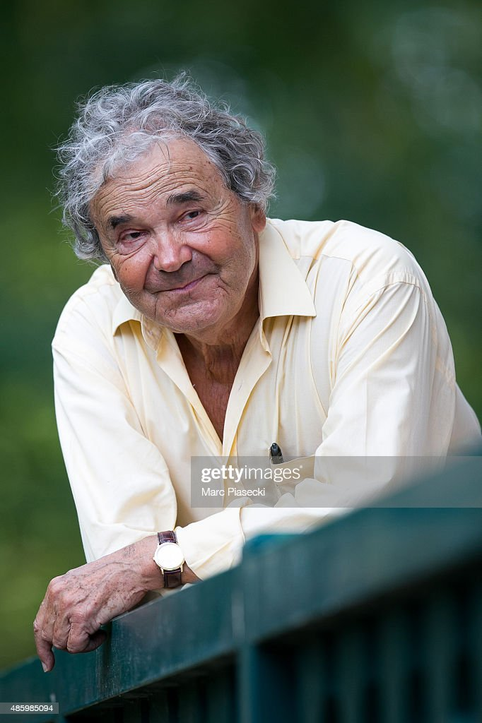 Pierre Perret attends the 2Oth 'La Foret des Livres' book fair on August 30, 2015 in Chanceaux-pres-Loches, France.