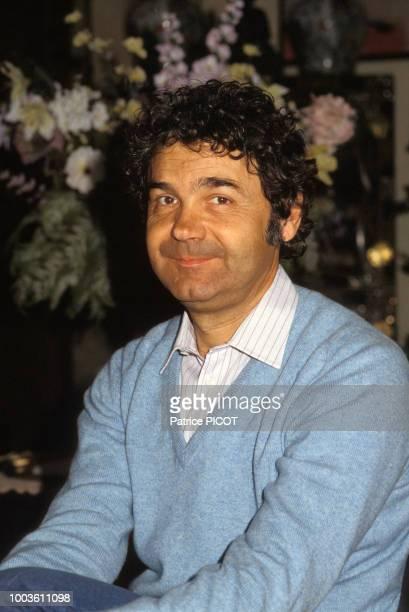 Pierre Perret le 27 janvier 1984, France.